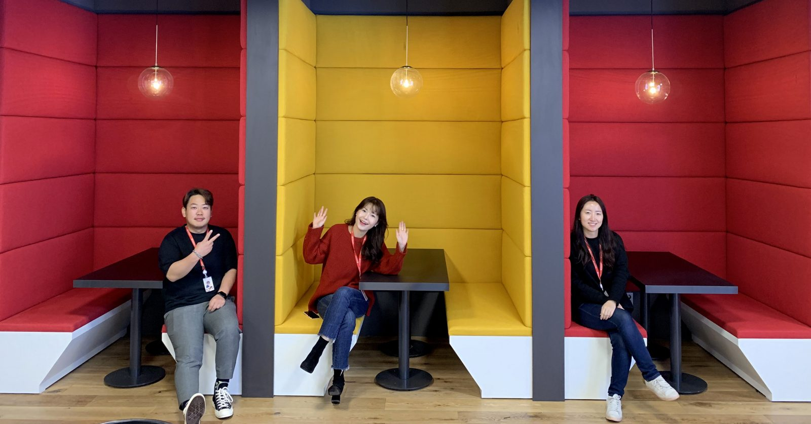 Skyline views and concept design: highlights of the Delivery Hero Korea office in Seoul